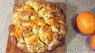 Orange Monkey Bread Recipe {with no added sugar}