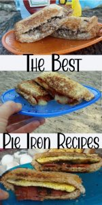 find lots of ideas for the best pie iron recipes. Make meals for all times of the day with these great ideas.