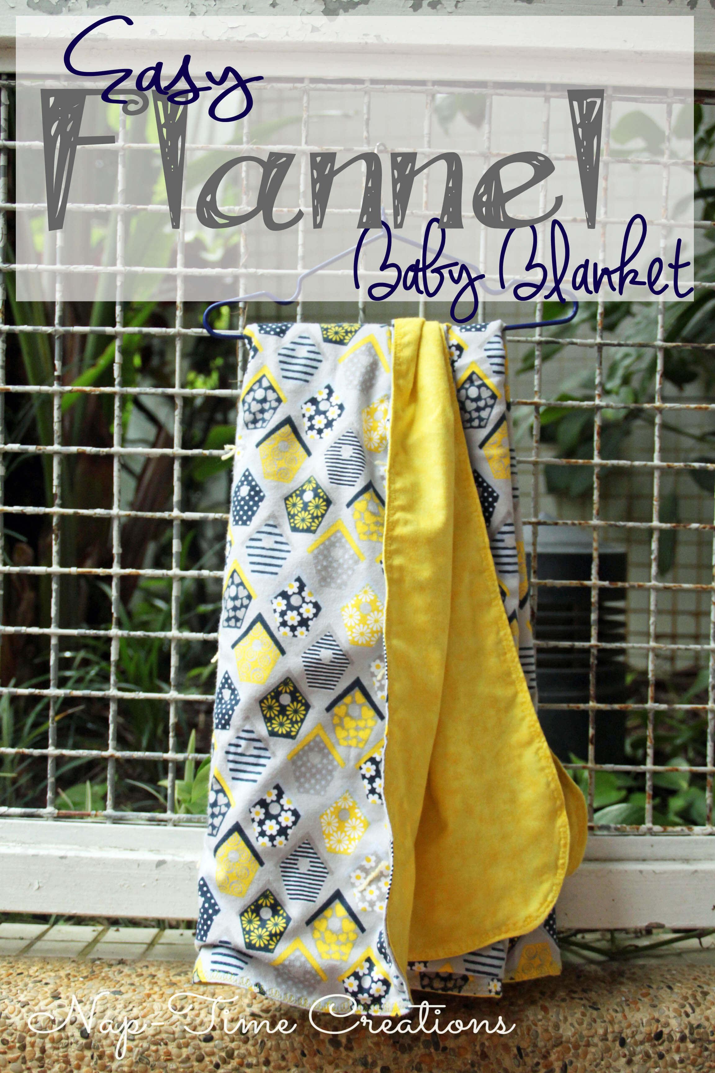 Easy baby blanket tutorial jeuxipadfo Gallery