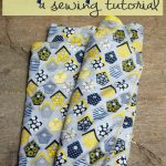 Easy Baby Blanket Sewing Tutorial