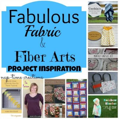 Fabric and Fiber Art Projects Features