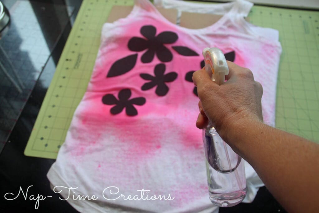 spray paint t-shirt #KoolOff #shop