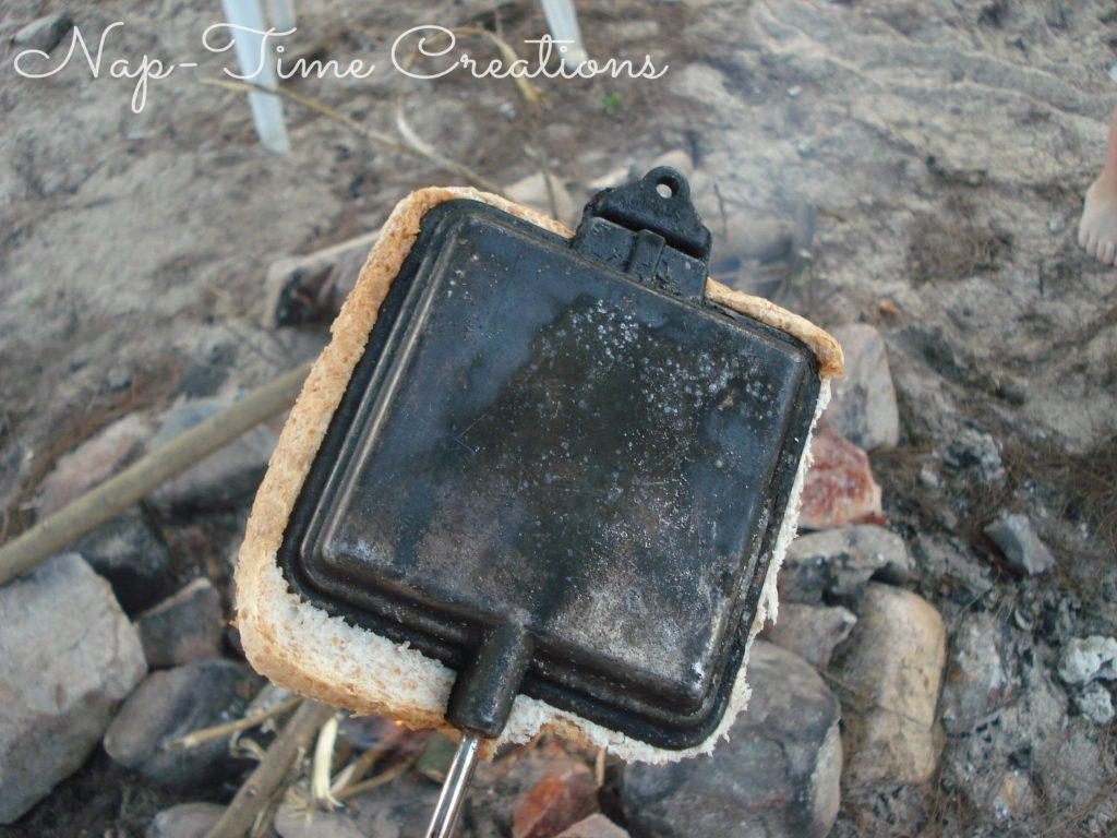pie iron basics for campfire cooking