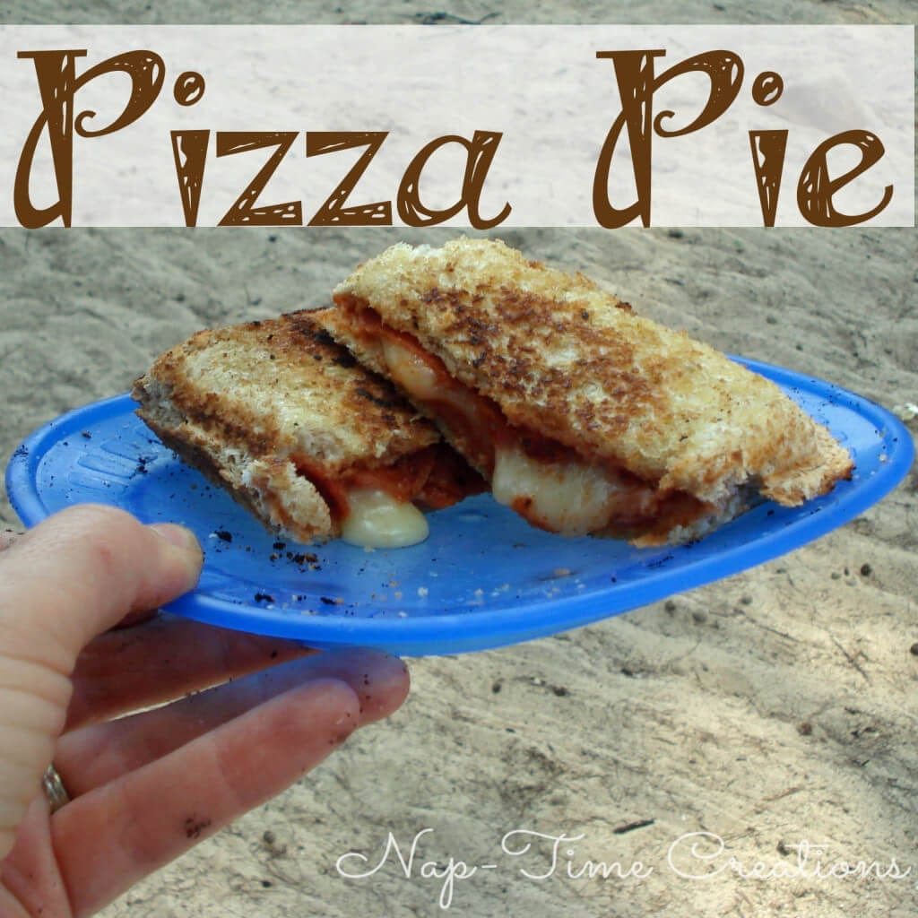 Pizza Pie #camping #campingfood