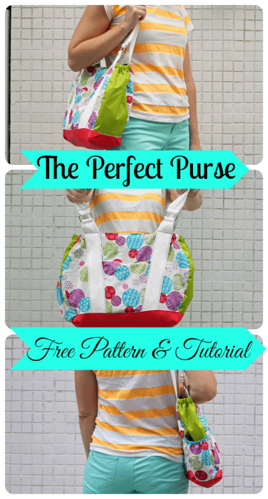 Free Purse Pattern design and sew your own purse from Life Sew Savory