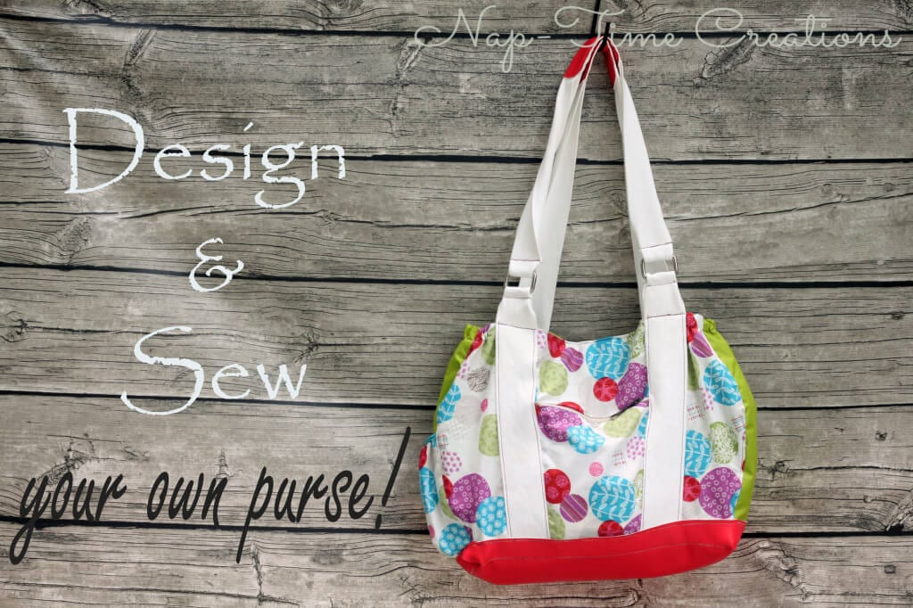 design and sew your own purse