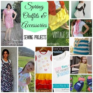 spring outfits and accessories {sewing projects}