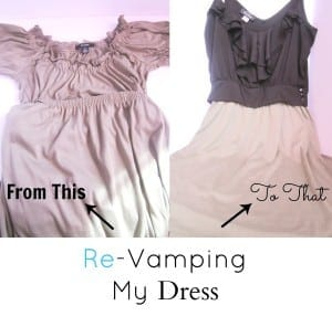 Re-Vamping My Dress (13)