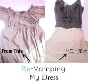 Re-Vamping My Dress (13)