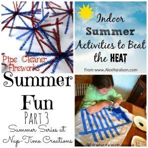 Indoor Summer Fun Ideas {part 3} + SUMMER GIVEAWAY {closed}