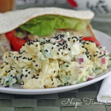 asian inspired potato salad