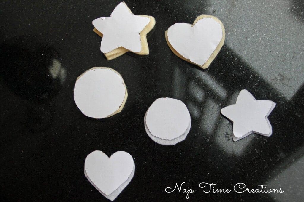 felt cookie ornament