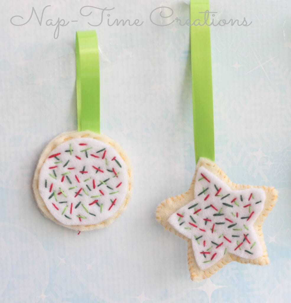 felt cookie ornament11