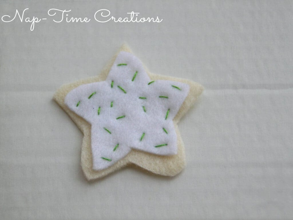 felt cookie ornament3
