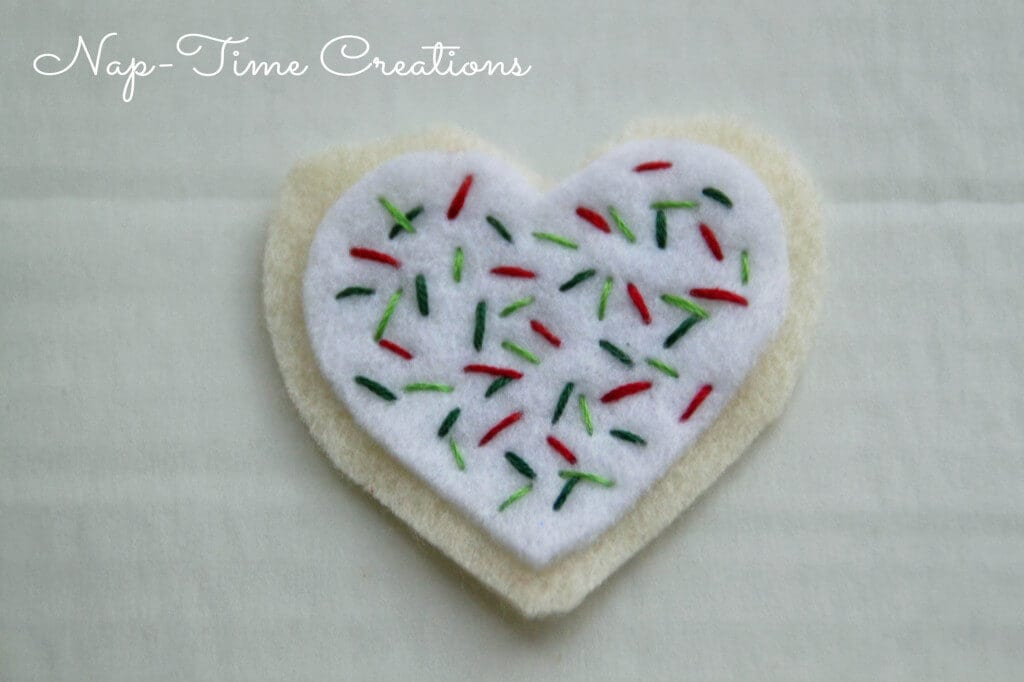 felt cookie ornament6