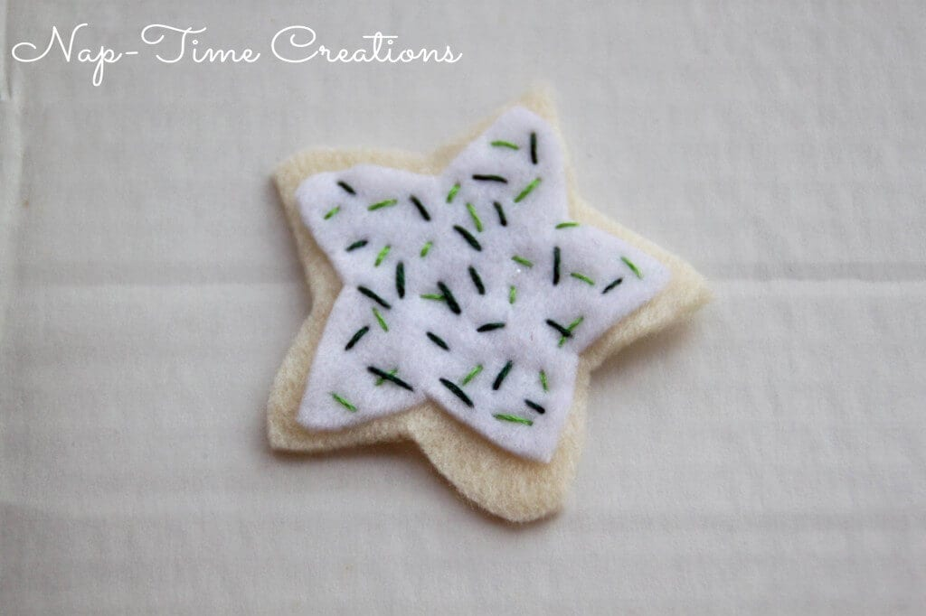 felt cookie ornament7