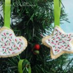 Felt Cookie Ornaments Tutorial