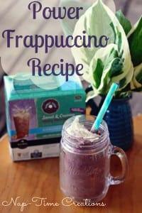 Power Frappuccino Recipe #BrewOverIce #BrewItUp #shop