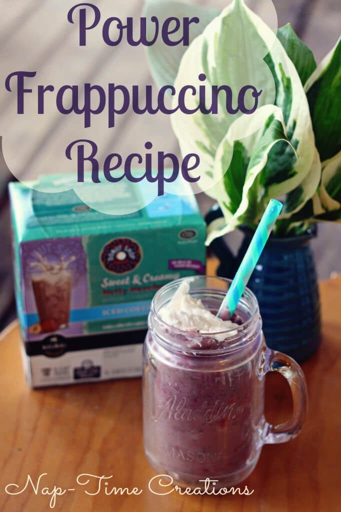 Power Frappuccino Recipe #BrewOverIce #BrewItUp #shop