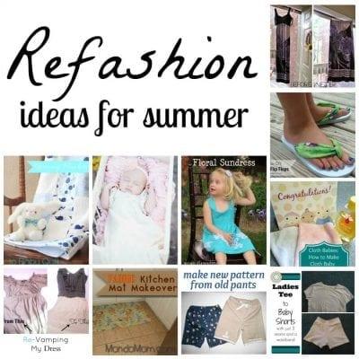 10 ways to refashion for summer