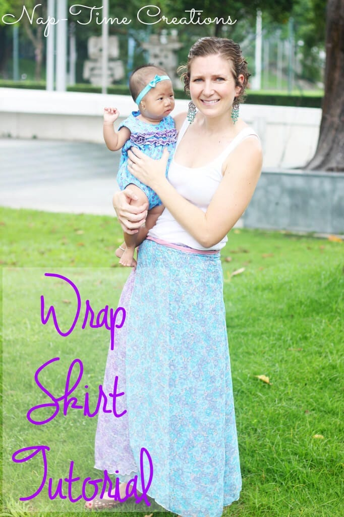 wrap skirt tutorial1
