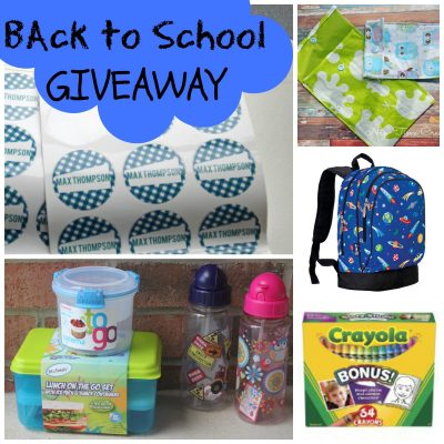Back to School Essentials GIVEAWAY {closed}