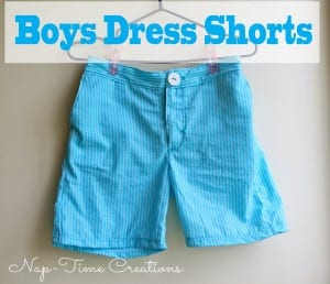 Boys dress shorts
