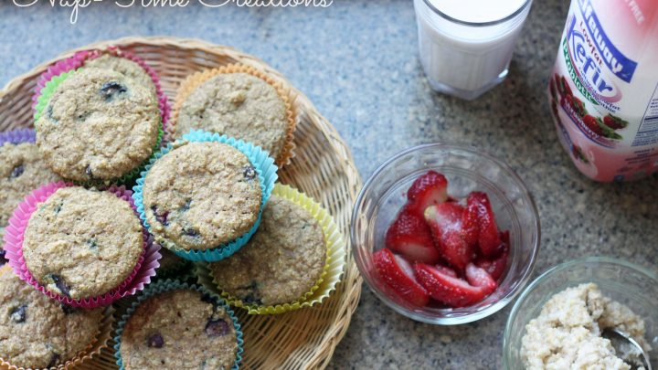 Kefir Muffins with oats and berries