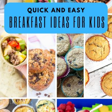 Breakfast ideas for kids, quick, easy healthy from life sew savory