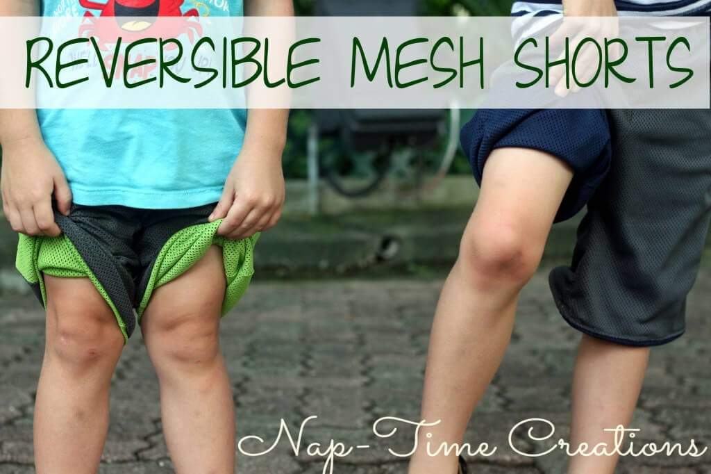 Reversible shorts tutorial