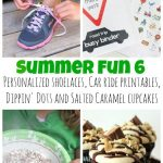 Personalized Shoelaces Summer Fun part 6