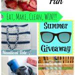 Mini Greenhouse+ Summer Fun 7 + two giveaways {closed}