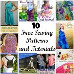 10 Free Sewing Patterns and Tutorials