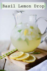Basil Lemon Drop