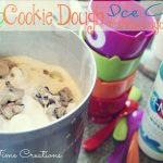 Homemade Cookie Dough Ice Cream #showusyourmess #PMedia #ad