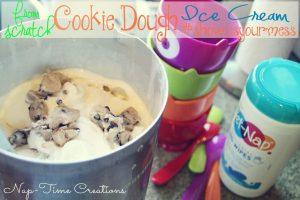 Homemade Cookie Dough Ice Cream