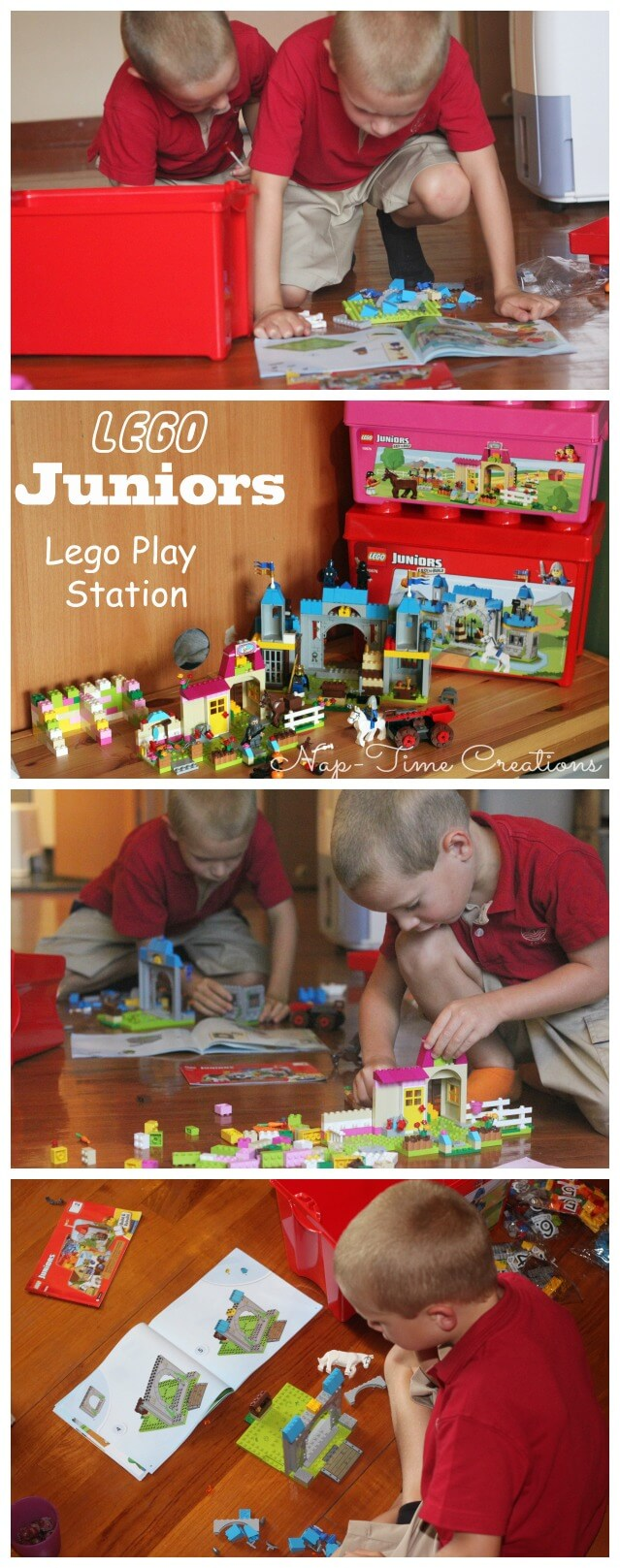 Lego Birthday Party Ideas #LEGOJuniorMakers #CleverGirls