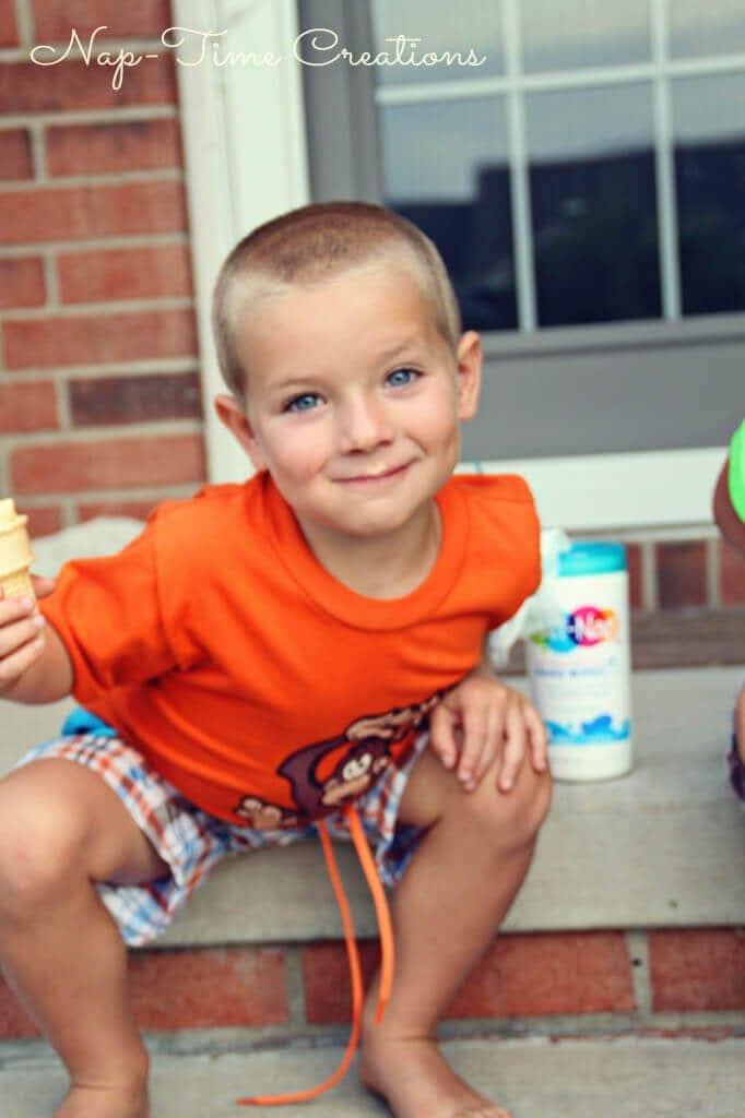 Cookie Dough Ice Cream #showusyourmess #PMedia  #ad