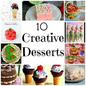 10 Creative Desserts