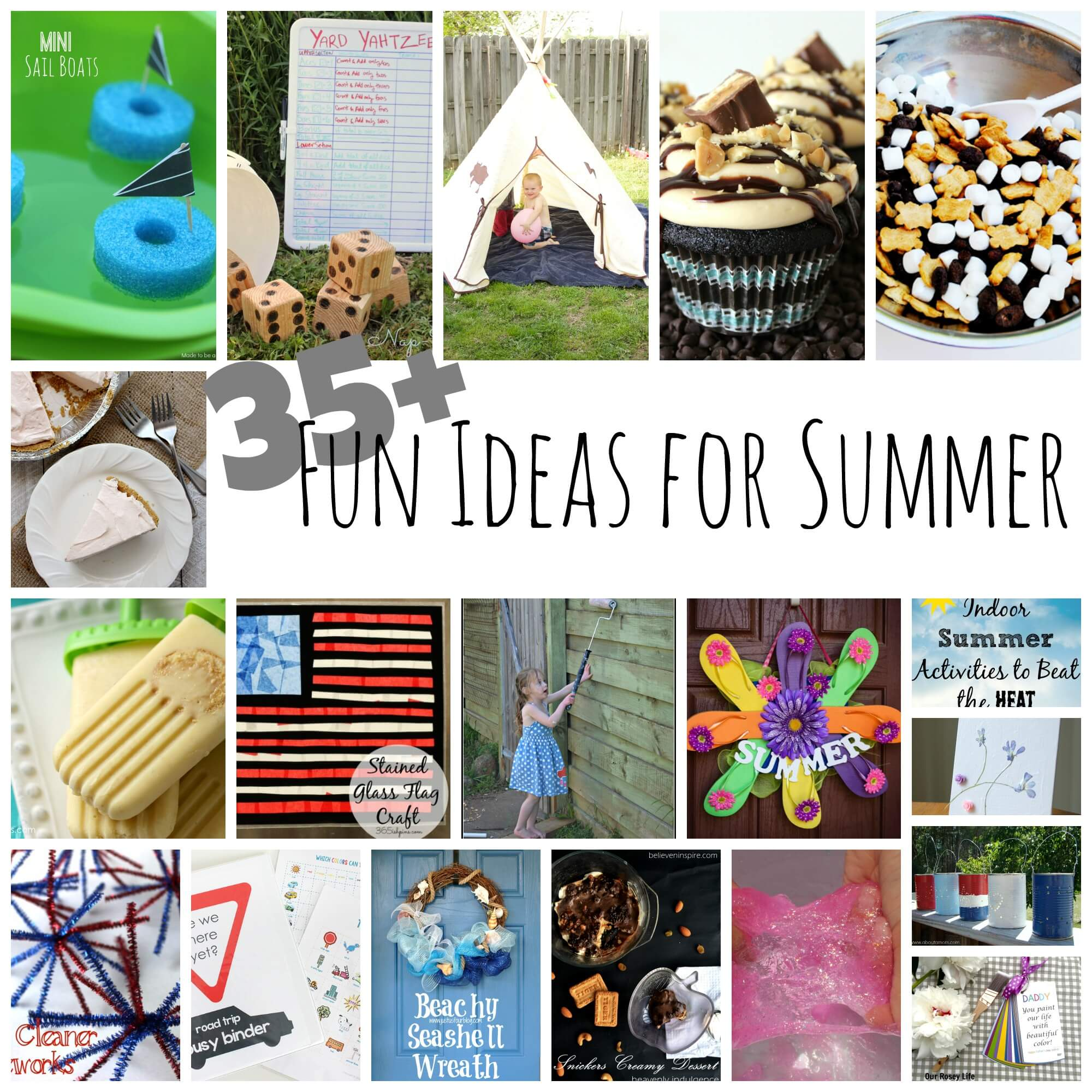 35 fun ideas for summer