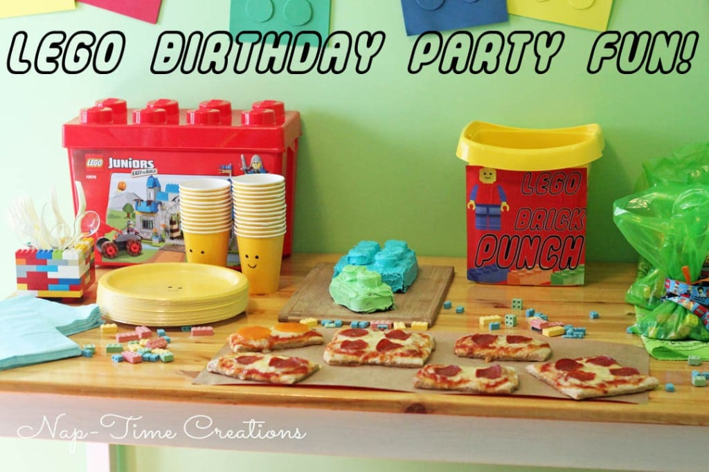 Lego Birthday Party fun