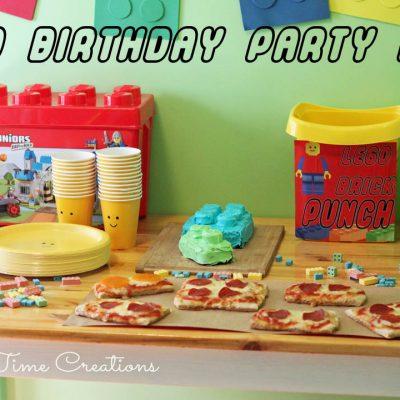 Plan a LEGO Birthday Party