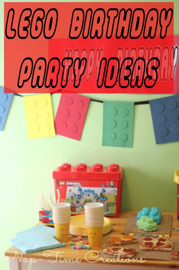 lego-birthday-party-ideas #LEGOJuniorMakers  #CleverGirls