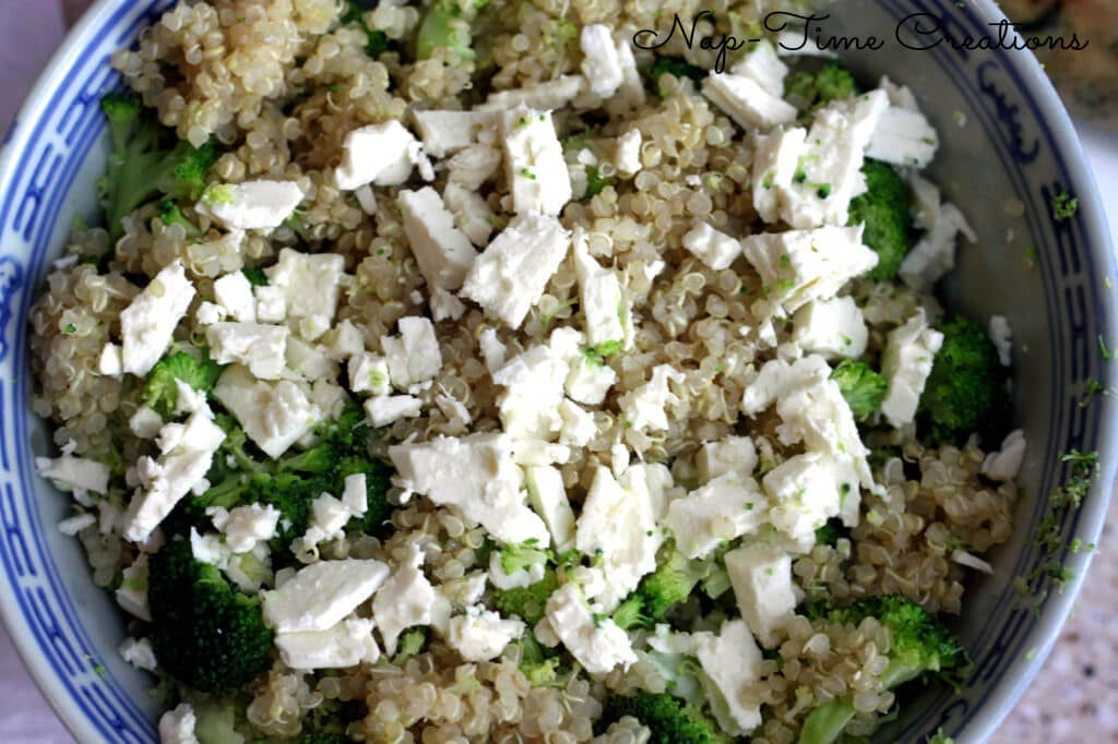 quinoa with broccoli1
