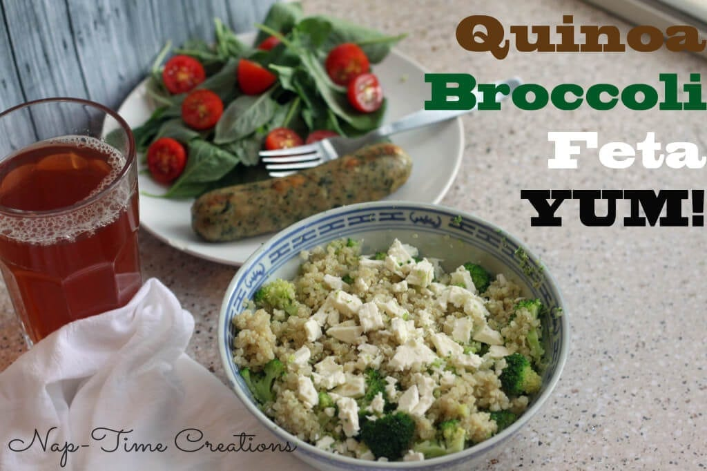 quinoa with broccoli3