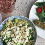 Quinoa with Broccoli {and Feta!}