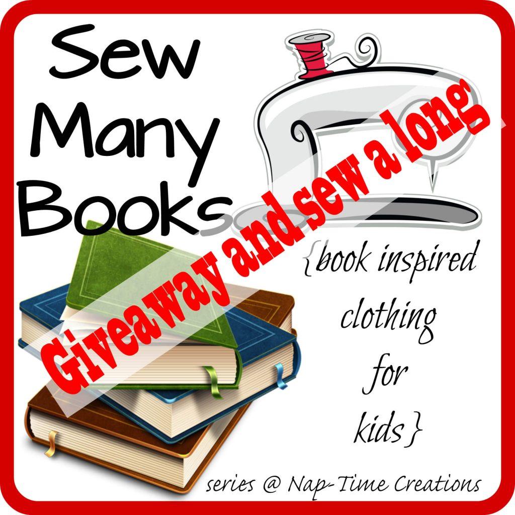 sew many books logo giveaway