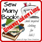 Sew Many Books Giveaway and Sew a Long {closed}