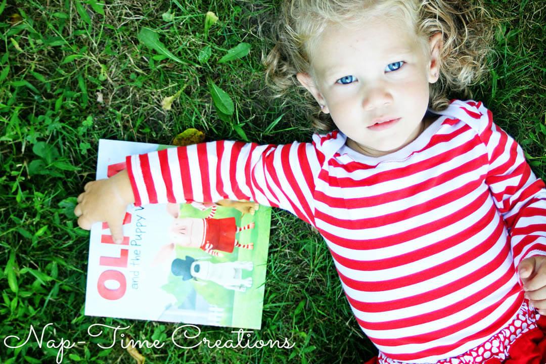 Sew Many Books Olivia {Nap-Time Creations}