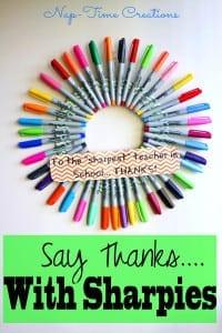 sharpie teacher gift idea7  #StaplesBTS #PMedia #ad